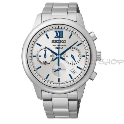Montre chronographe SEIKO SSB145P1 mouvement Quartz