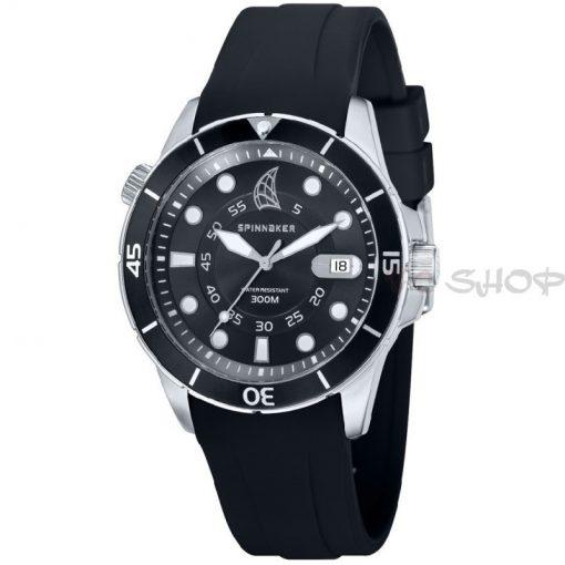 Montre de plongée analogique SPINNAKER SP-5005-01 bracelet en silicone