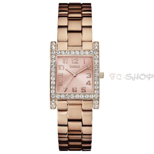 Montre analogique femme GUESS W0128L3 mouvement quartz modèle couleur rose