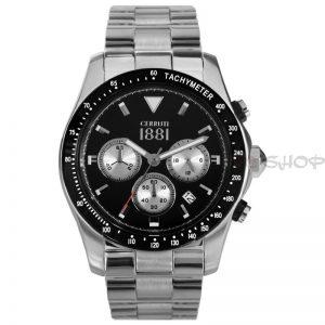 Montre chronographe CERRUTI 1881 CRA083A221G Collection Urano