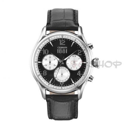 Montre chronographe CERRUTI 1881 CRA107SN02BK Collection Bellagio