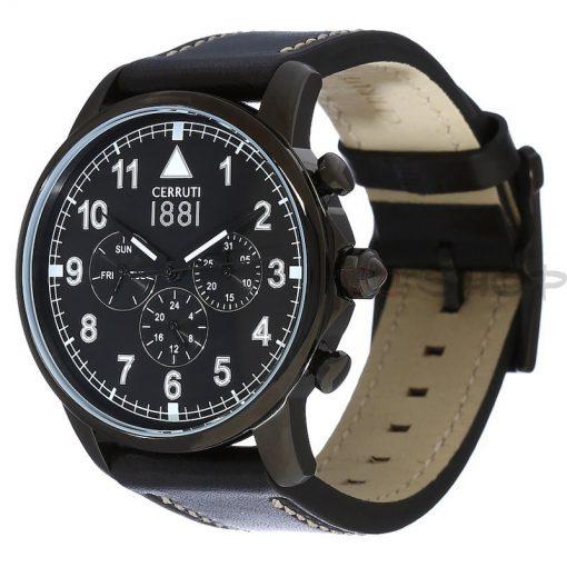 Montre chronographe CERRUTI 1881 CRA081F222G Collection Terra