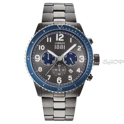 Montre chronographe CERRUTI 1881 CRA104SUBL61MU Collection Volterra