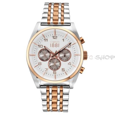Montre chronographe CERRUTI 1881 CRA109STR04MRT Collection Amalfi