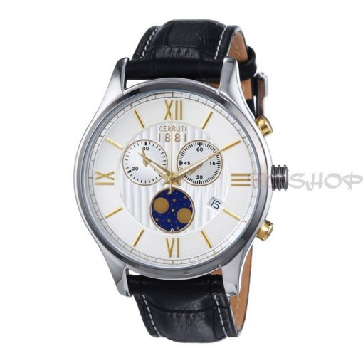 Montre chronographe CERRUTI 1881 CRA119STU07BK Collection Chioggia