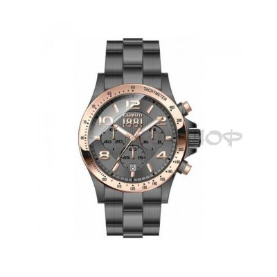 Montre chronographe CERRUTI 1881 CRA101D271G Collection Carrara
