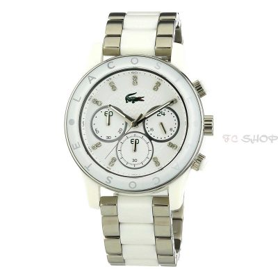 Montre chronographe femme LACOSTE 2000803 collection Charlotte