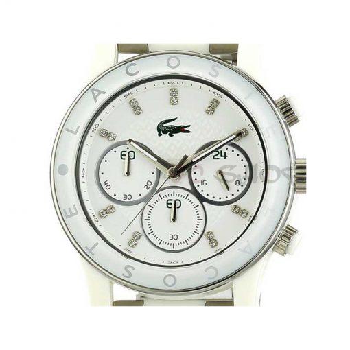 Montre chronographe femme LACOSTE 2000803 collection Charlotte