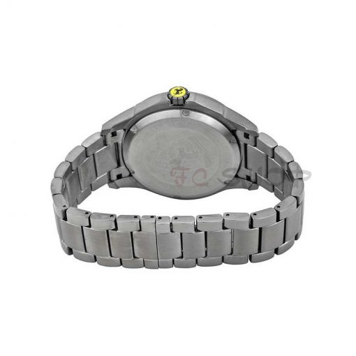 Montre analogique homme SCUDERIA FERRARI 830106 bracelet acier gris