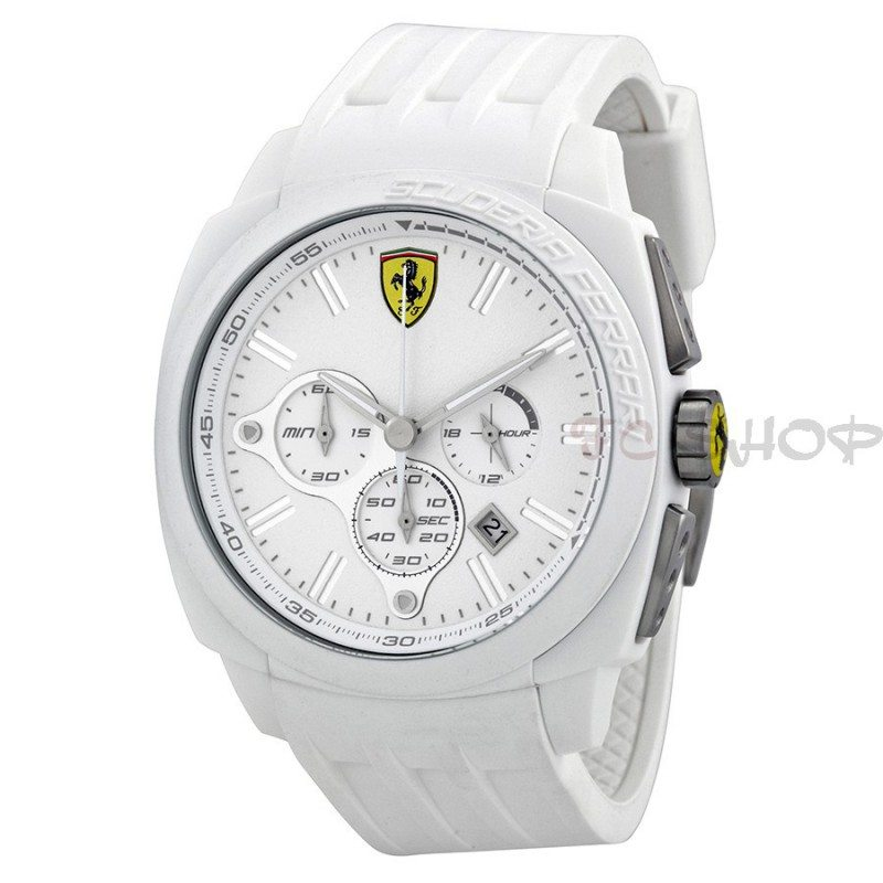 montre chronographe homme scuderia ferrari 830119 fcshop montre. Black Bedroom Furniture Sets. Home Design Ideas