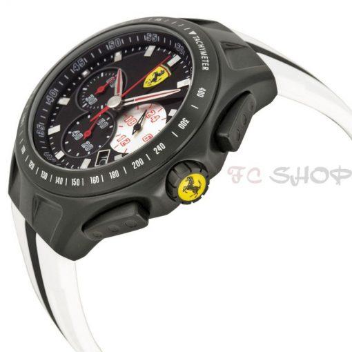 Montre chronographe homme SCUDERIA FERRARI 830026 bracelet bicolore silicone