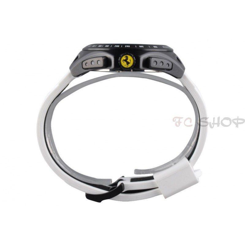 design de qualité 4773c 5d632 Montre chronographe homme SCUDERIA FERRARI 830026 bracelet bicolore  silicone   fcshop-montre