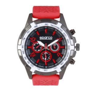 Montre homme Sparco, chronomètre, EDDIE rouge