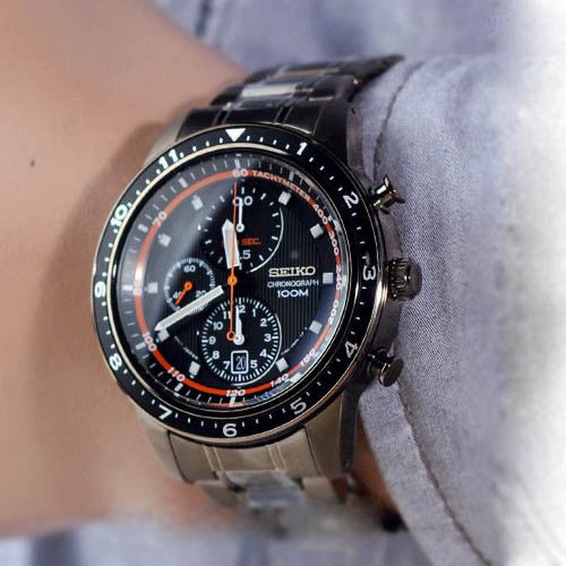 grand choix de a4a80 c2e69 Montre homme sport SEIKO, chronographe, SNDF41P1 | fcshop-montre
